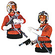 Star Wars Luke Skywalker Snowspeeder Deluxe Mini Bust
