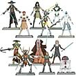 Star Wars Clone Wars Action Figures Wave 6