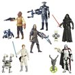 Star Wars TFA Jungle and Space Action Figures Wave 5 Set