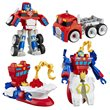 Transformers Rescue Bots Megabots Wave 1 Case