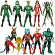 Green Lantern Classics Wave 2 Action Figure Set