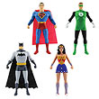 Justice League 5 1/2-Inch Bendable Figure 4-Pack