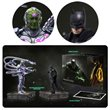 Batman Injustice 2 Batman and Brainiac Statue Set