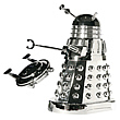 Doctor Who 12-Inch RC Silver Chrome Movie Dalek