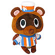 Animal Crossing Timmy Store Clerk 5-Inch Plush