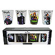 Disney Villains Shot Glass 4-Pack