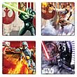 Star Wars Unleashed Artwork Coaster 4-Pack