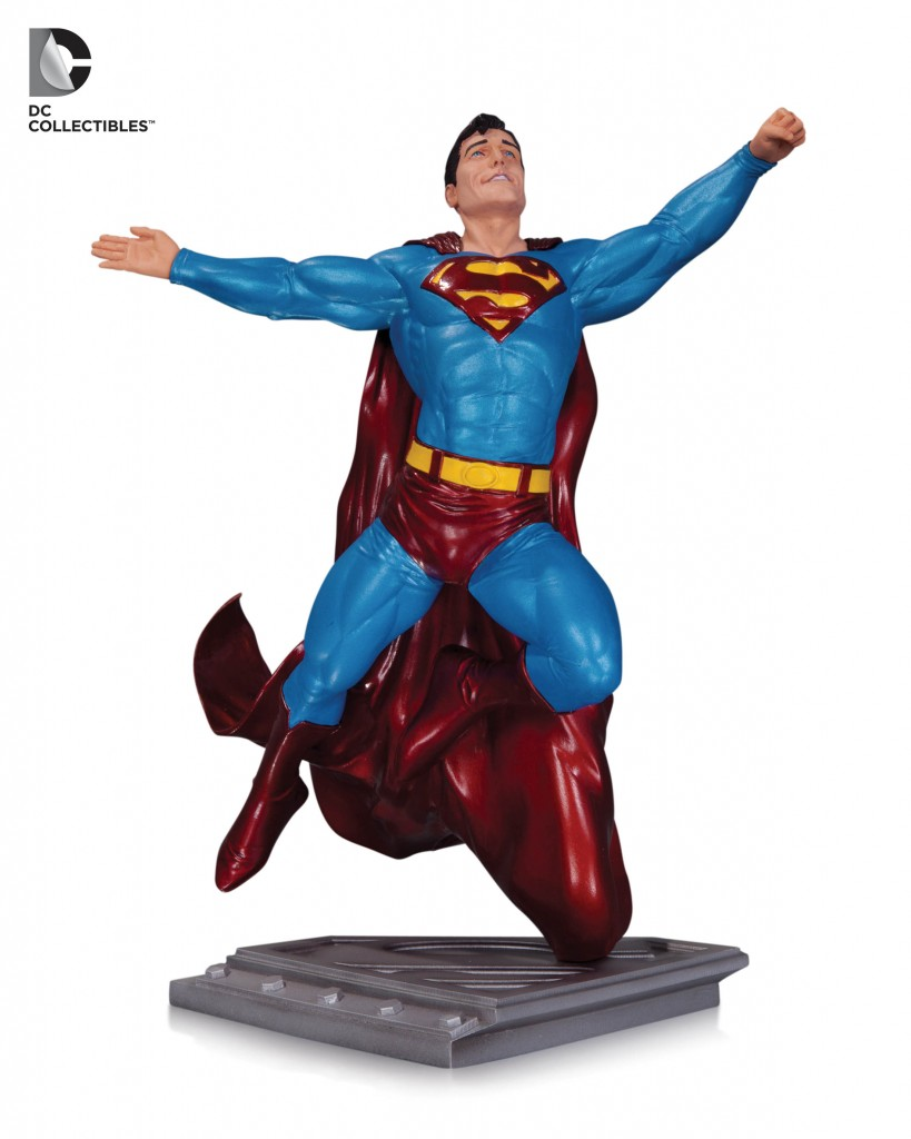 Superman-Man-of-Steel-Statue