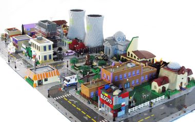 Building Springfield: The Lego Simpsons