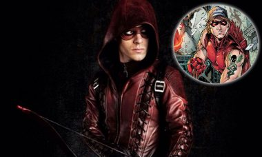 Colton Haynes is Arsenal in Arrow Season 3