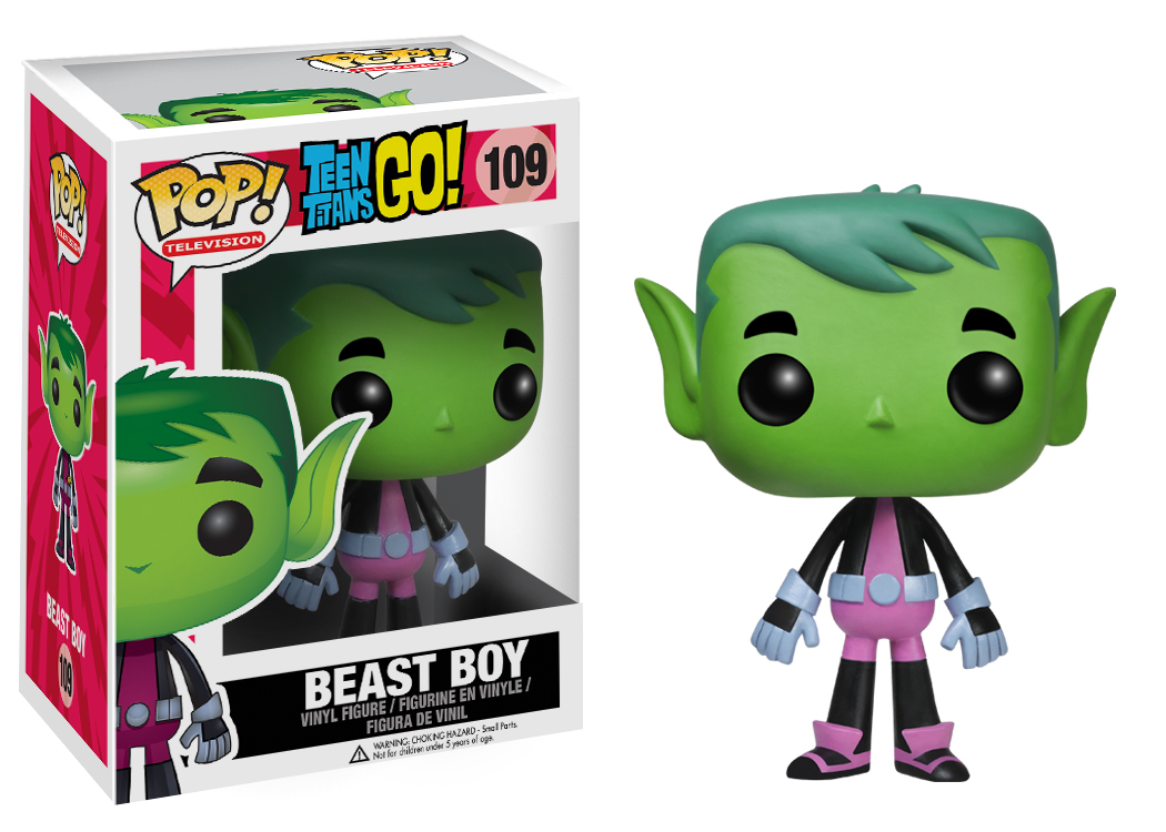 Teen Titans Go Pop