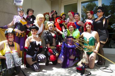DC Bombshells Come to Life at SDCC 2014