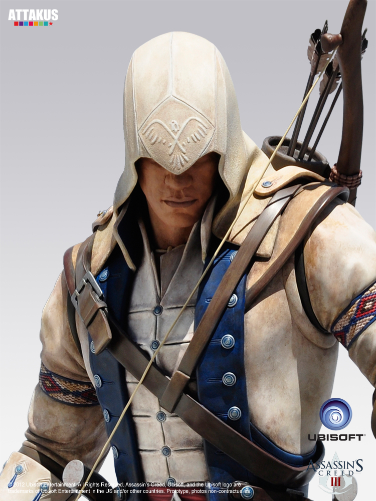 Connor Kenway Life Size Statue