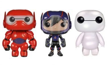 All-New Big Hero 6 Pop! Vinyls