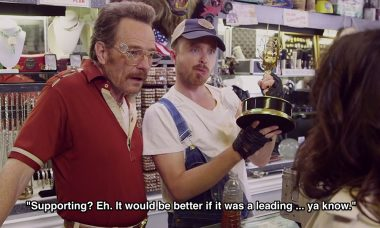 Bryan Cranston and Aaron Paul in Emmy Promo