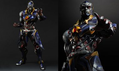 Darkseid Play Arts Kai Variant Figure