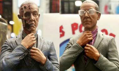 Burned Face Gus Fring: For the Adult Collector