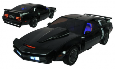 K.I.T.T. Comes to Life as Knight Rider Vehicle Replicas