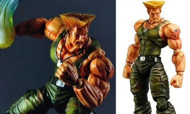 Super Street Fighter IV Guile Play Arts Kai