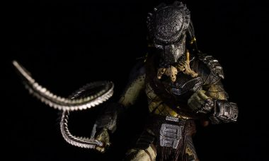 Alien vs. Predator Wolf Predator SH MonsterArts