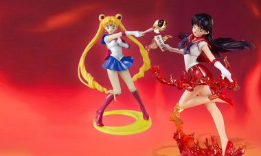 Sailor Moon and Scouts Figuarts Zero Statues
