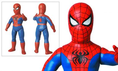 Spider-Man Sofubi Retro Action Figure
