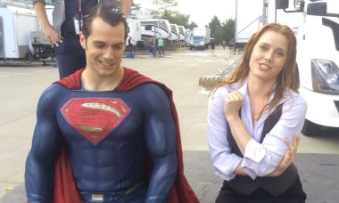 Superman Spreads Awareness in ALS Ice Bucket Challenge