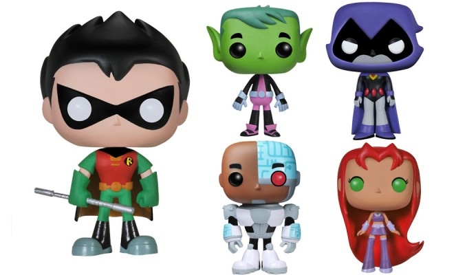 Teen Titans Go Pop With Funko Pop Vinyls