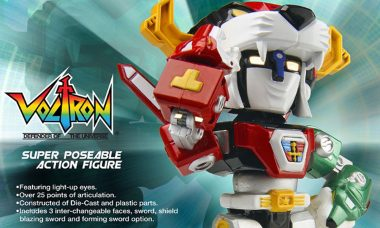 30th Anniversary Voltron Super Deformed Action Figure