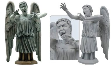 Doctor Who Masterpiece Weeping Angel Premium Bust