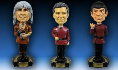 Star Trek II: The Wrath of Khan Bobble Heads