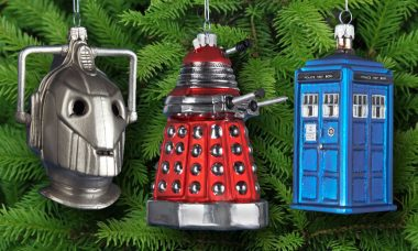 Time for Holiday Decorating with Doctor Who