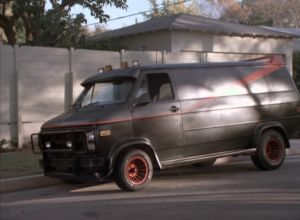 The A Team Van Authentic One Used In 1983 87 Television Show Was GMC Vandura Cargo G Series Customized By Universal Studios