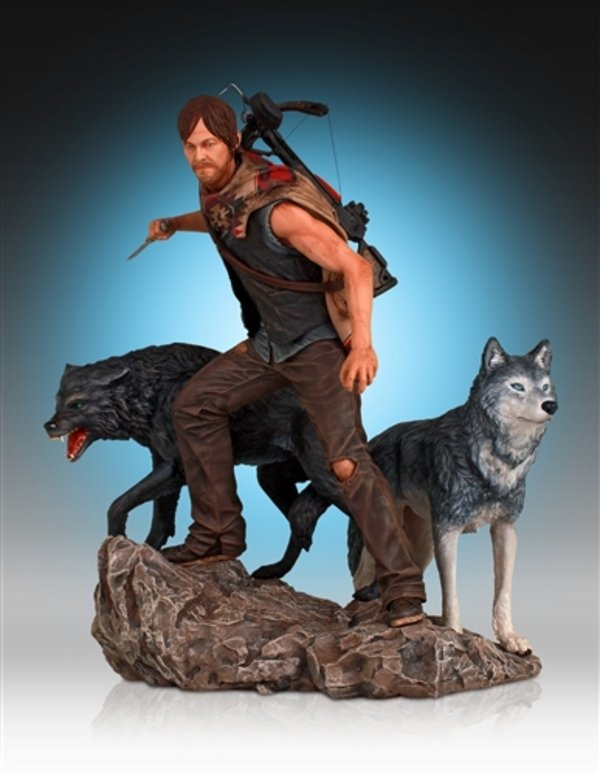 Daryl-Dixon-and-Wolves-Statue-by-Gentle-Giant-1
