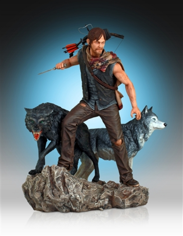 Daryl-Dixon-and-Wolves-Statue-by-Gentle-Giant-5