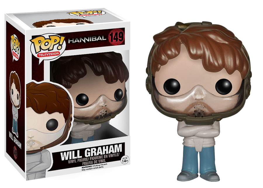 Feed Your Fear With Hannibal Pop Vinyls