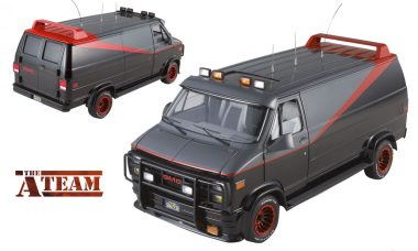 Ride in Style With the A-Team Classic Van Heritage Vehicle