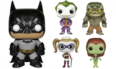 Batman Arkham Asylum Pop! Vinyls