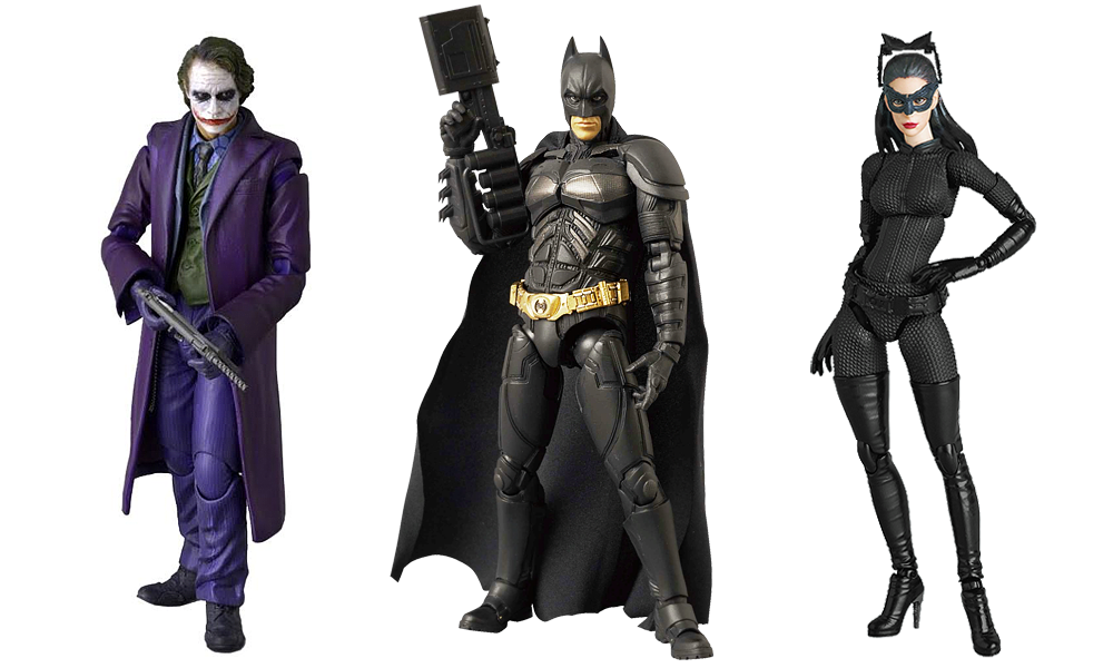 Batman Dark Knight Miracle Action Figures