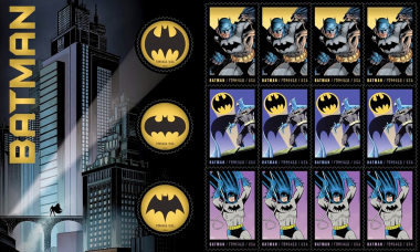 Batman Postage Stamps Kicks Off New York Comic Con