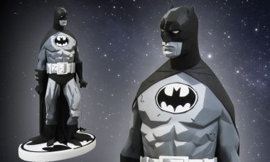 Batman Black and White Mike Mignola Variant Statue