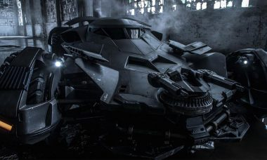 Zack Snyder Reveals Official Batmobile Photo