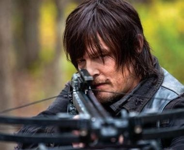 Daryl and the Wolves Combat the Walking Dead