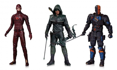 New Arrow and Flash TV Series Action Figures