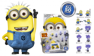 Collect all 50 Minion Battle Pods Mini-Figures