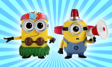New Despicable Me Minion Pop! Vinyls Figures