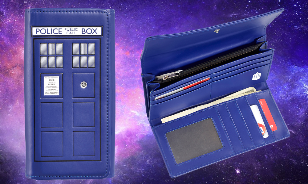 TARDIS Ladies Wallet