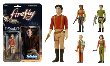 Aim to Misbehave with Funko's Firefly ReAction Figures