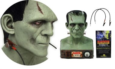 Universal Monsters Frankenstein VFX Head 1:1 Scale Bust