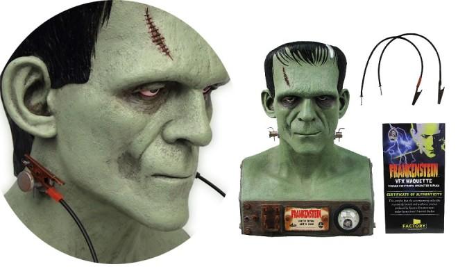 Universal Monsters Frankenstein Vfx Head Bust